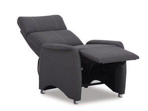 fauteuil relax coloris gris