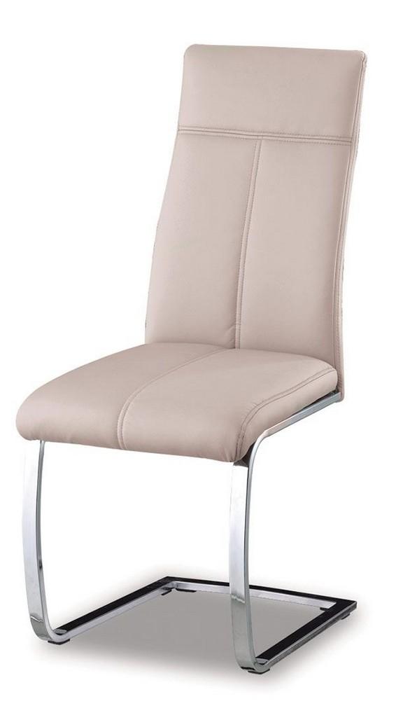 Une belle chaise couleur cappuccino