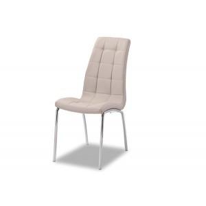 chaises Merlino avec design contemporain couleur cappuccino