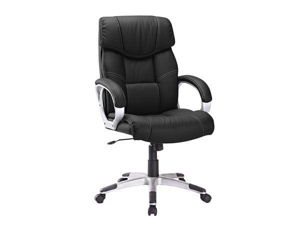 fauteuil de bureau avec siège inclinable couleur noir