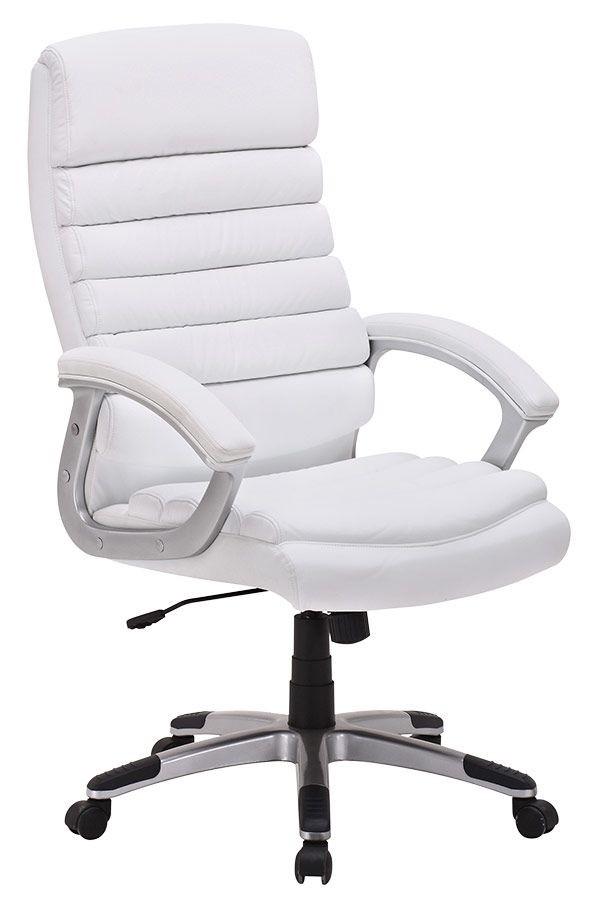 Fauteuil de bureau ergonomique couleur blanc