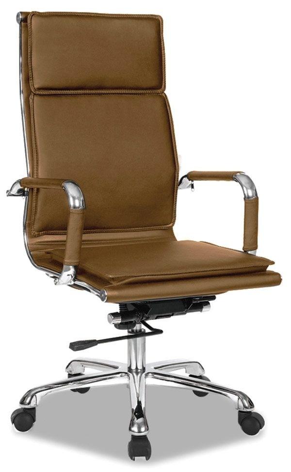 fauteuil de bureau couleur pu cappuccino