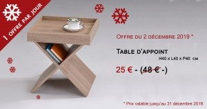 Table d'appoint - 25€