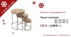 Table gigogne - 120€