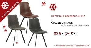 chaise vintage - 65€