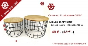 Table d'appoint - 49 €