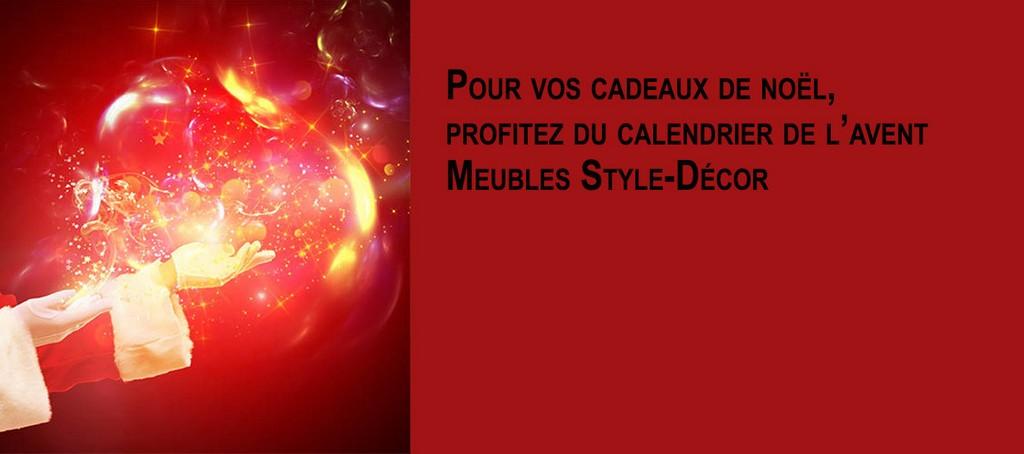 Calendrier de l'avent 2019 - Meubles en Belgique