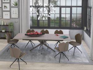 Table en céramique argile