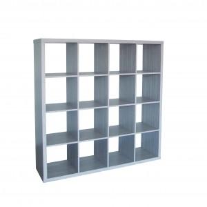 Armoire de rangement sans portes 16 casiers