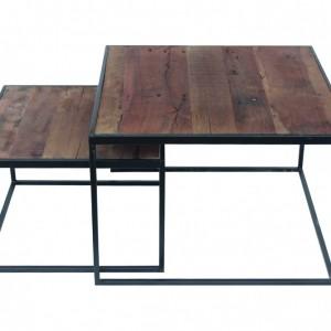 Table basse 'Quinn' set de 2 tables
