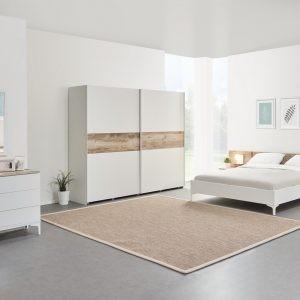 Chambre VERANO avec garde-robe, commode, lit de 160 cm et chevet