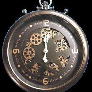 Horloge engrenages de 52 cm de diamètre
