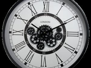 Horloge à roues dentées qui bougent