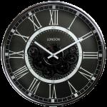 Horloge avec des engrenages mobiles 54,5 cm de diamètre