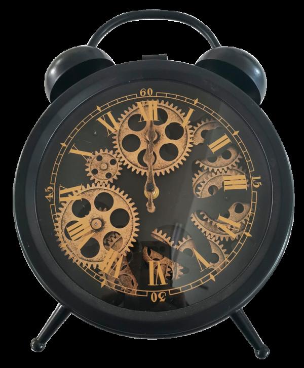 Horloge à engrenages vintage à poser