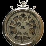 horloge chronomètre murale avec des engrenages