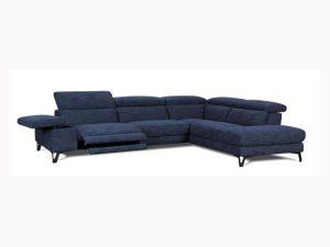 canapé d'angle bleu vonray