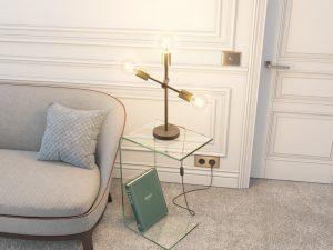 Lampe de table atria