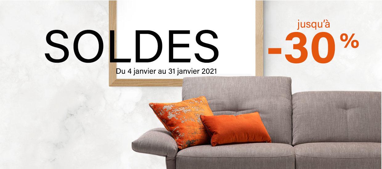 Soldes d'hiver chez Meubles Style-Décor du 4 janvier au 31 janvier 2021