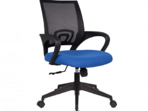 Chaise de bureau nylon bleu