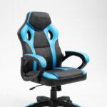 chaise gamer spike rouge noir 9810-6