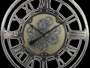 Horloge avec roues dentées qui bougent