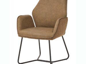Chaise avec accoudoirs pu terra