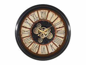 Horloge avec des engrenages mobiles oxido
