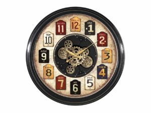 Horloges à engrenages CALENDAR avec un diamètre de 58 cm