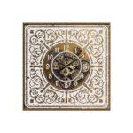 Horloge à engrenages baroque